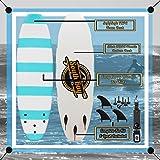 6' Beginner Foam Surfboard - Soft Top Surfboard for Kids - The 6' Guppy