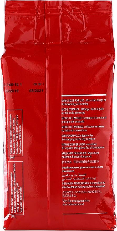 Lallemand Levadura seca – Paquete de 500 gramos de levadura ...