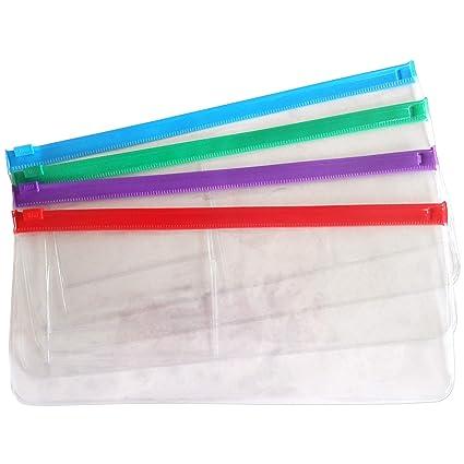 Bolsa Plástica Transparente con Cierre (Paquete de 2 ...