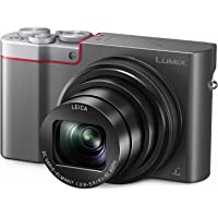 Panasonic Lumix DMC-ZS100 20.1MP 4K Ultra HD Wi-Fi Digital Camera with 10x Optical Zoom (Silver) + $100 Gift Card