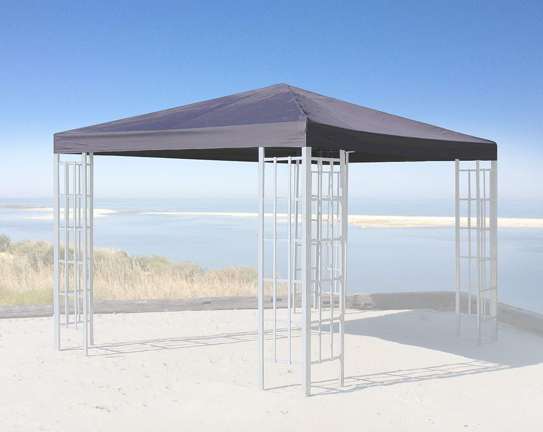 Quick-Star Ersatzdach für Rank Pavillon 3x3m Anthrazit Ersatzbezug Pavillondach Pavillondach Pavillondach 21470d