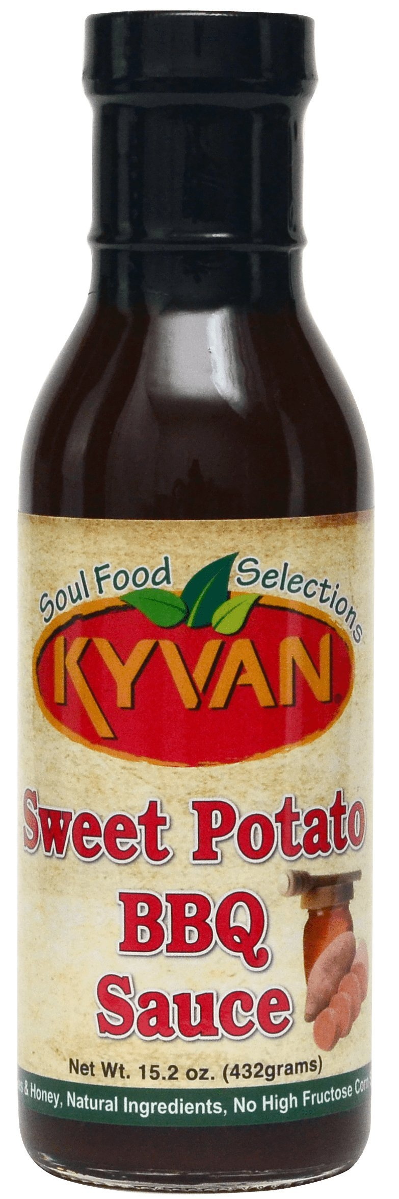 KYVAN Sweet Potato BBQ Sauce - 2 Pack by KYVAN