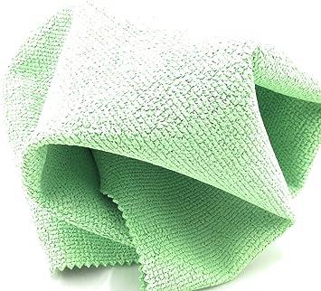 10er Pack Microfasertuch PU-beschichtet grün 40 x 40 cm