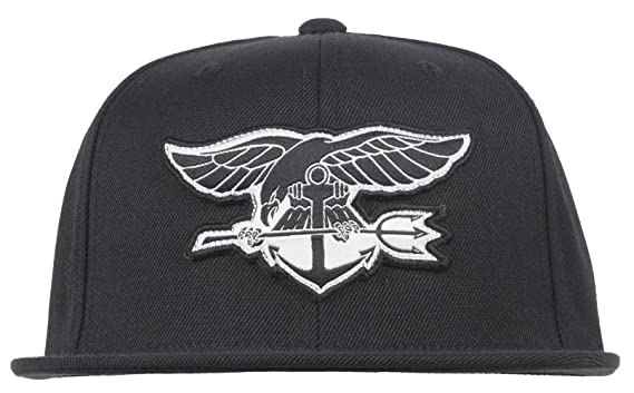 Amazon.com  Black Scale War Seal Snapback Hat BLVCK SCVLE Adjustable ... 2c182a1ec09