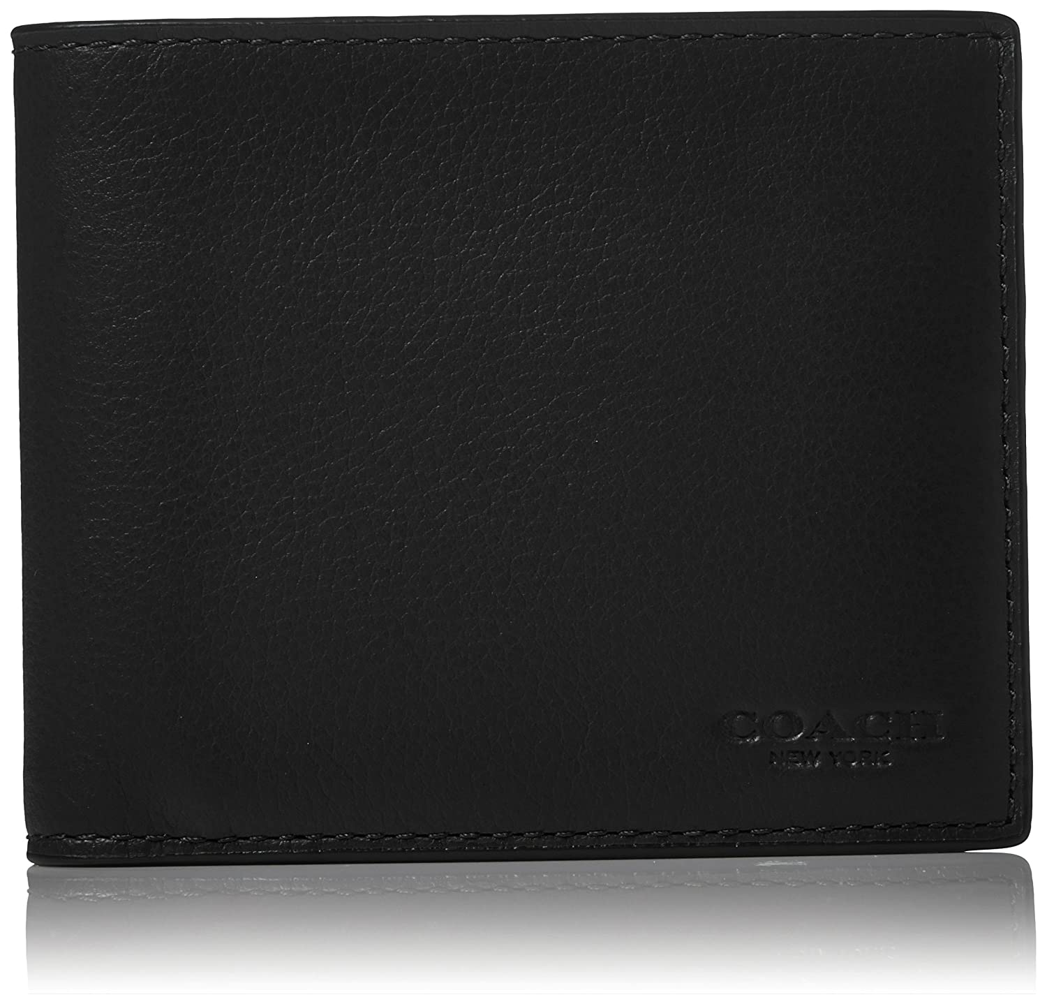 dad3fa10bff9 Coach mens leather in wallet set black one size shoes jpg 1500x1438 Coach  mens wallet