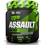 MusclePharm Assault Sport Pre-Workout Powder with High-Dose Energy, Focus, Strength, and Endurance, Strawberry Ice, 30…