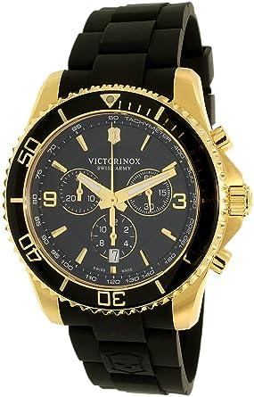 Victorinox Swiss Army Mens Maverick 249099 Gold Stainless-Steel Swiss Quartz Watch