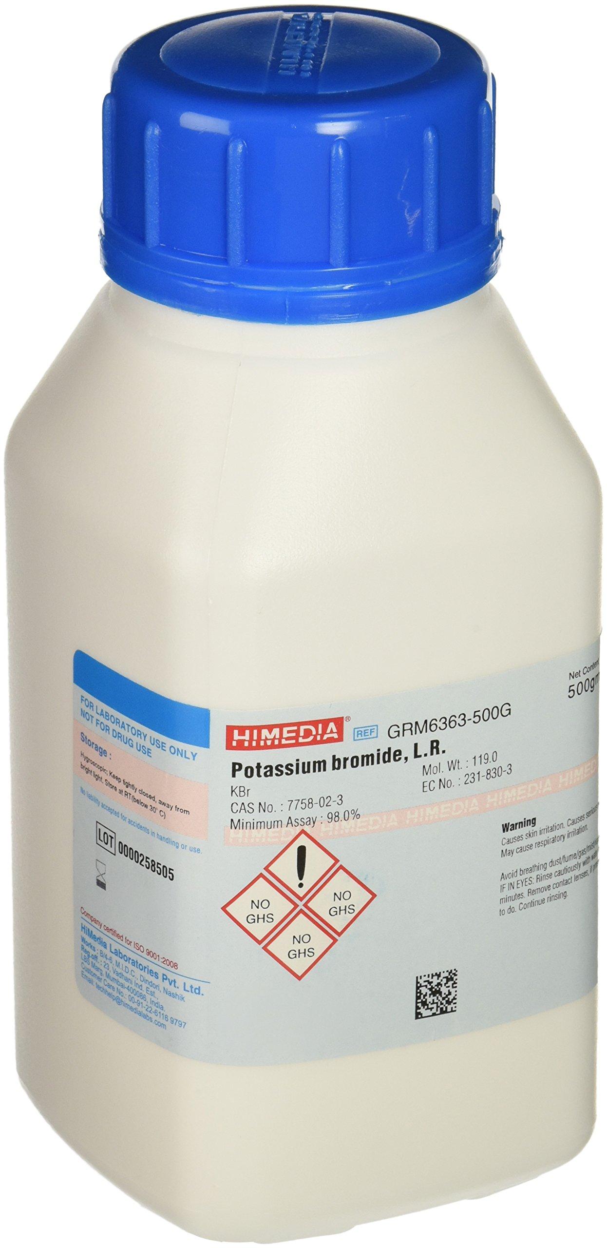 HiMedia GRM6363-500G Potassium Bromide, L.R, 500 g