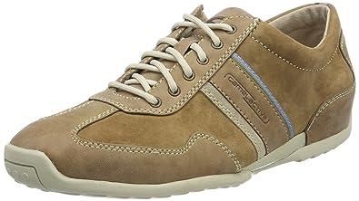 Camel Active Space 24, Sneakers Basses Homme, Marron (Peat), 49 EU