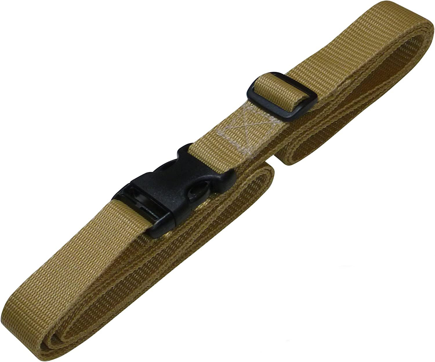 2 metres, beige Benristraps 25mm Strap with Quick Release Buckle and Length Adjuster