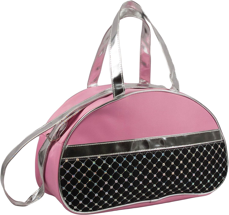 # 1ファッション女の子ダンスダッフルMoonバレエバッグ ピンク