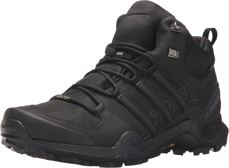 adidas outdoor Men's Terrex Swift R2 Mid GTX BlackBlackBlack 11.5 D US