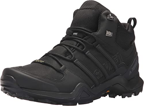 adidas Terrex Swift R Mid GTX women dark grey at Sport