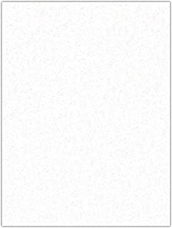 product image for Kunin Eco-fi Glitter Friendlyfelt-Stiffened, 9-Inch by 12-Inch, White (Pack of 12)