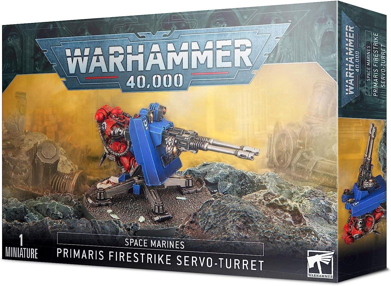 Warhammer 40K Space Marines Firestrike Servo-Turret Games Workshop