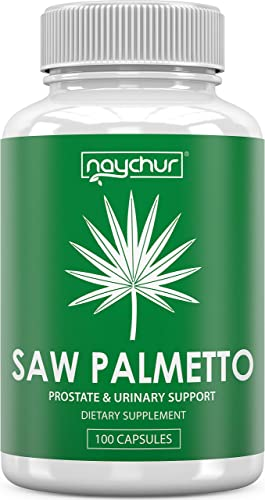 Saw Palmetto Prostate Supplements for Men Women – DHT Blocker Pills Prostate Health Support Mens Health – Saw Palmetto Extract Berries for Bladder Control Frequent Urination Hair Loss – Non GMO Caps