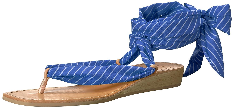 Dolce Vita Women's Henlee Slide Sandal B07BBVZ1HW 9.5 B(M) US Blue Stripe Fabric