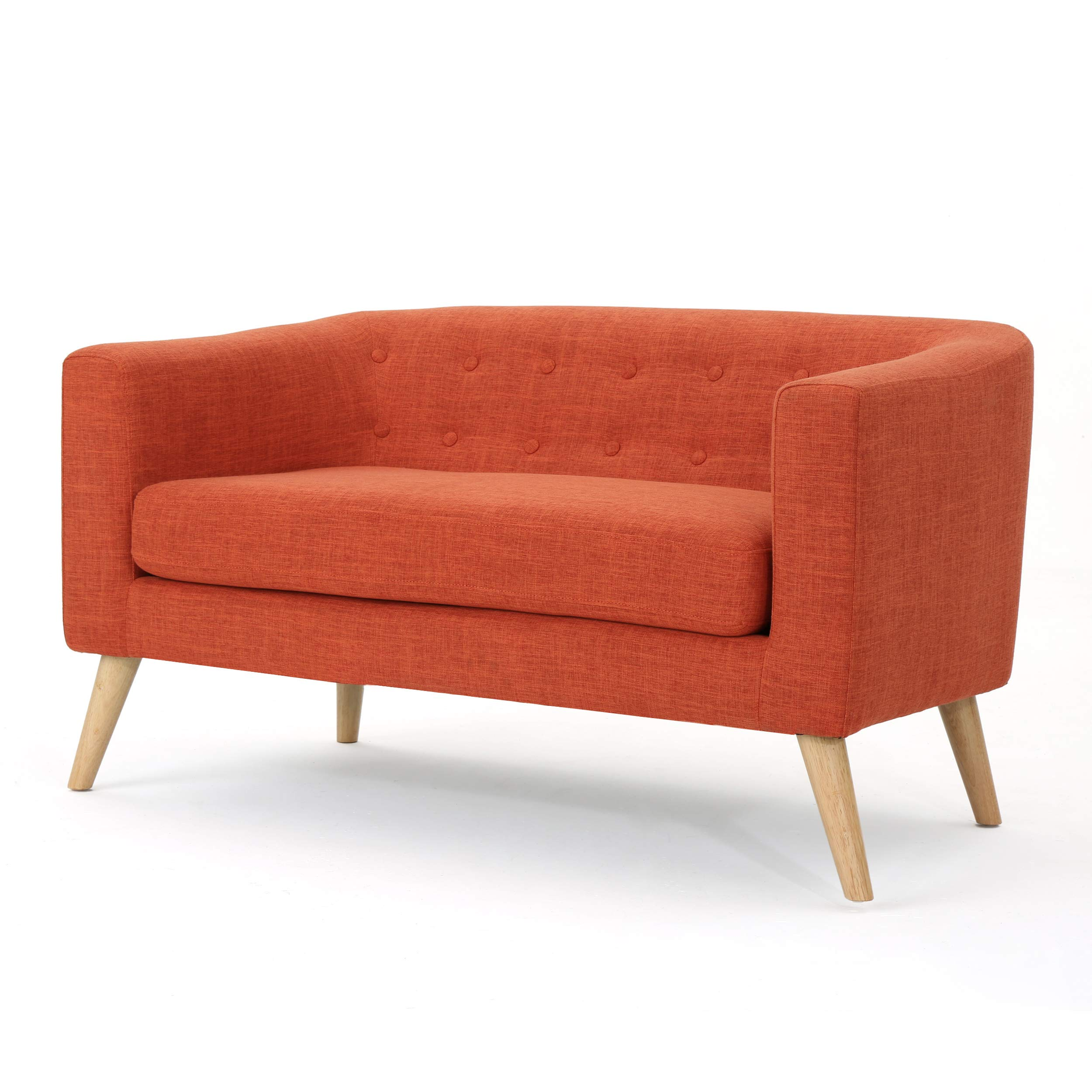 Christopher Knight Home Bridie Loveseat, Muted Orange by Christopher Knight Home