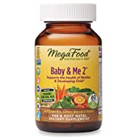 MegaFood, Baby & Me 2, Prenatal and Postnatal Vitamin with Active Form of Folic...