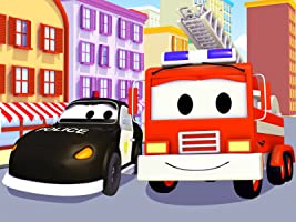 Car Patrol: The Adventures of Matt the Police Car and Frank the Firetruck [OV]
