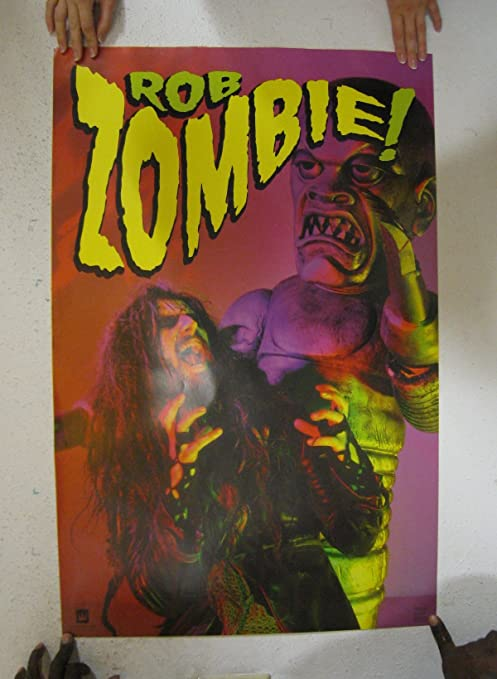 Amazon.com: ROB Zombie 23 x 35 Hellbilly Cartel 1999: Home ...