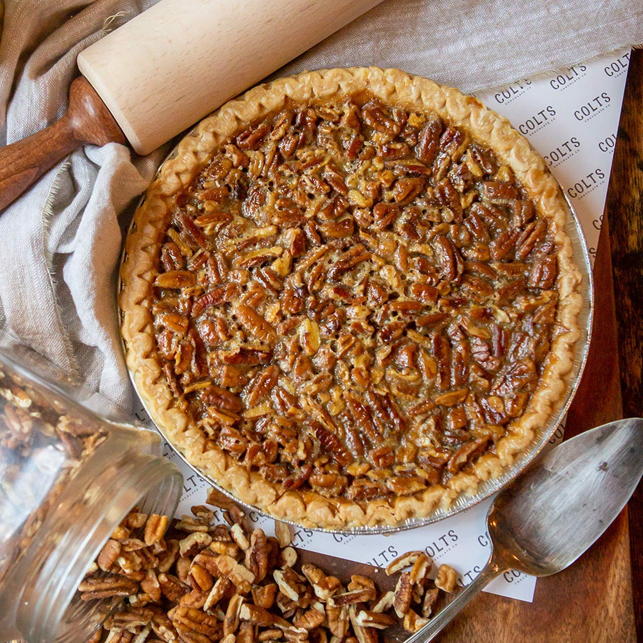 Colts Chocolates White Chocolate Pecan Pie Made In Nashville 10 Inches Amazon Com Grocery Gourmet Food