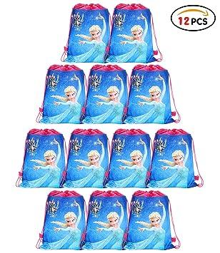 Amazon.com: Qemsele Bolsas de fiesta con cordón mochilas 12 ...