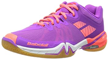 Babolat Damen Schatten Tour Badminton Schuhe (lilarosa) 5