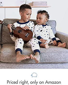 Moon and Back by Hanna Andersson Baby One Piece Footed Pajama