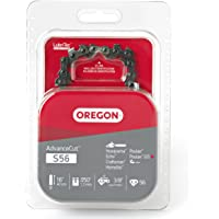 Oregon S56 AdvanceCut Chainsaw Chain for 16-Inch Bar, Fits Echo CS-400, CS-310, CS-352 and CS-370, Poulan 2150 and 3816, Makita EA4300F40B, Ryobi RY3716 and more; 56 Drive Links