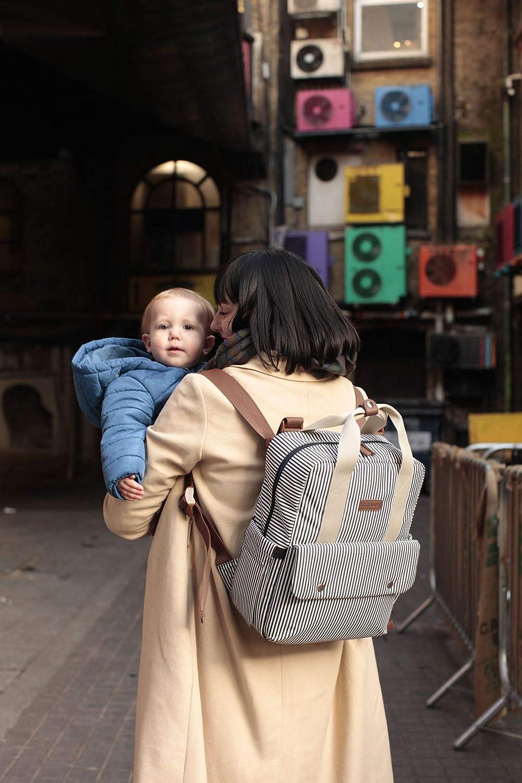 Babymel Georgi Sac /à dos convertible /écologique