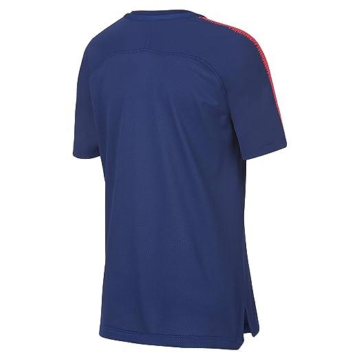 Nike ATM Y Nk BRT Sqd Top SS Camiseta, Unisex niños, Deep Royal ...