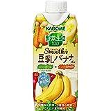 カゴメ 野菜生活100 Smoothie 豆乳バナナMix 330ml×12本