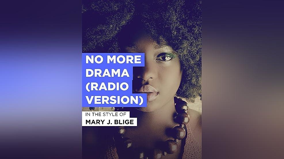 No More Drama (Radio Version)