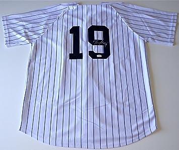 pretty nice 31dbb e60f7 Autographed Masahiro Tanaka Jersey - Home White Pinstripe ...