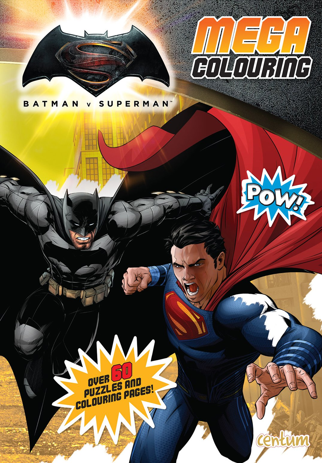 Batman V Superman Mega Colouring Book Centum Books 9781910917862 Amazon Com Books