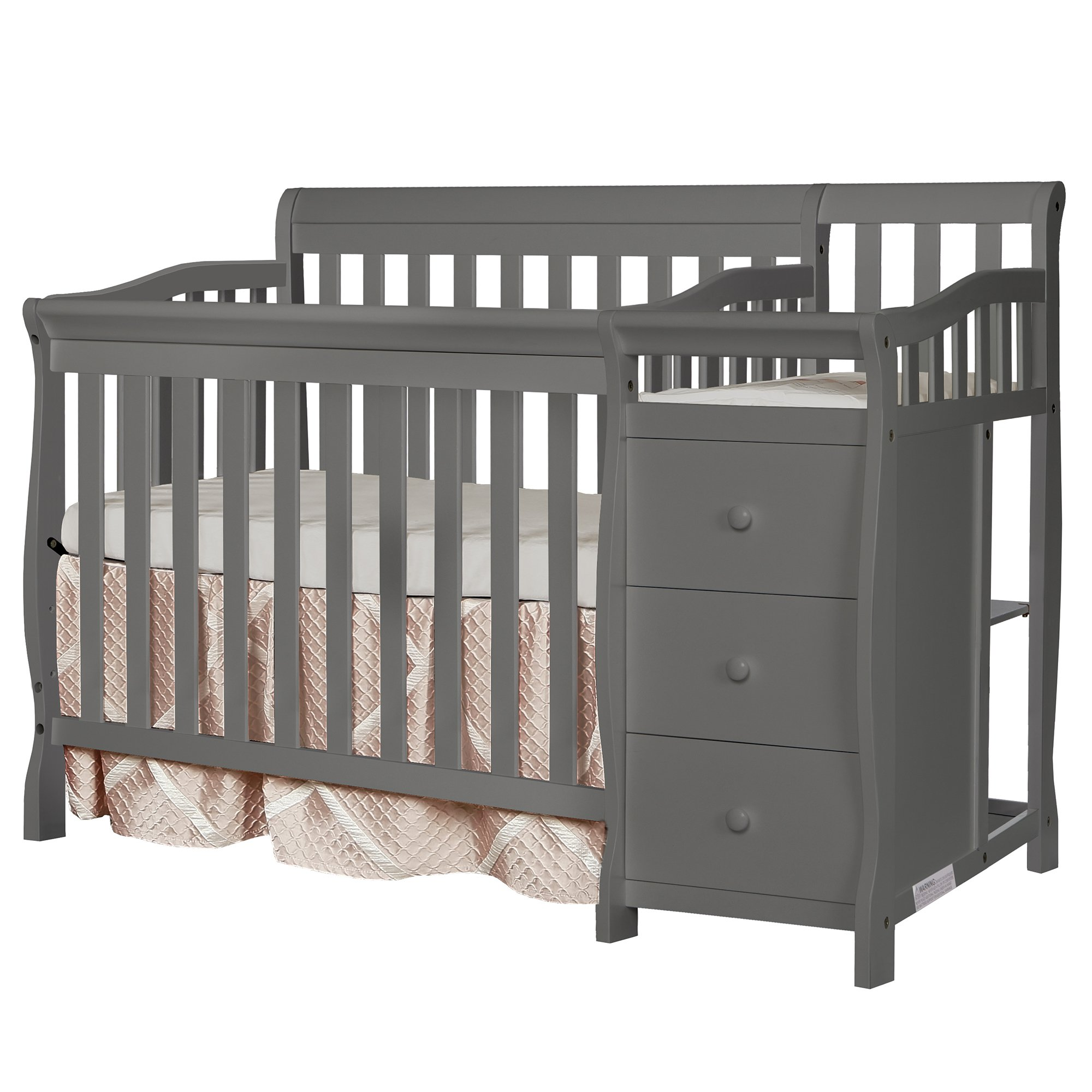 Dream On Me Jayden 4-in-1 Mini Convertible Crib And Changer by Dream On Me