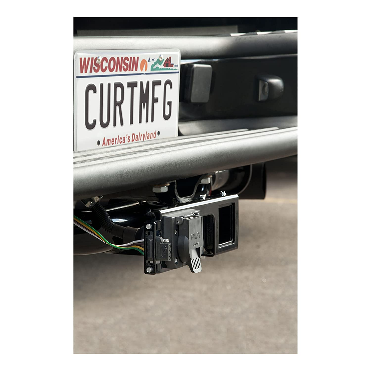 Curt Manufacturing 58000 Trailer Hitch Automotive Wire Flat Connector Vehicle To Wiring 4