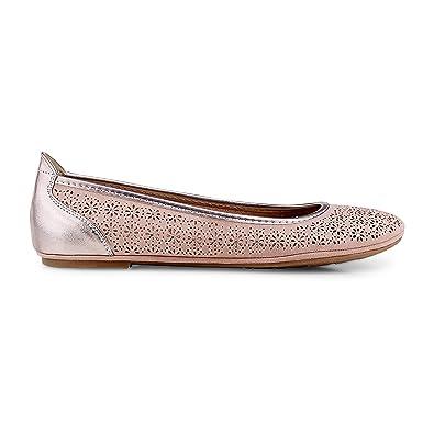 Marco Tozzi Damen Nubuk Ballerina: : Schuhe