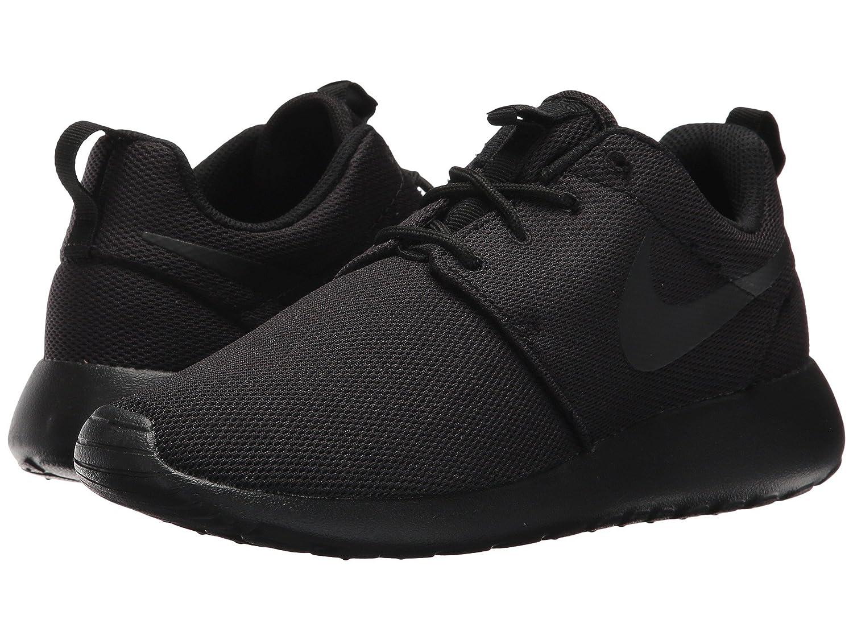 [NIKE(ナイキ)] レディーステニスシューズスニーカー靴 Roshe One Black/Black/Dark Grey 8.5 (25.5cm) B - Medium B07FB6J8GS