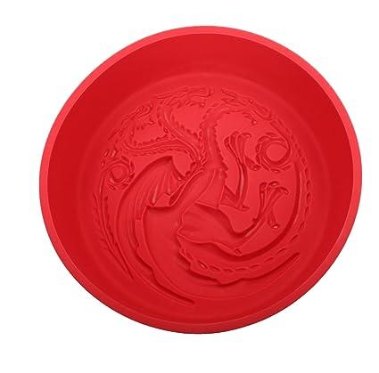 SD toys Targaryen Game of Thrones Molde Horno, Silicona, Rojo, 29 x 27