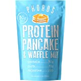 Protein Pancake & Waffle Mix by Phoros Nutrition, Low Carb, High Protein, Low Glycemic, Keto-Friendly, Just Add Water…