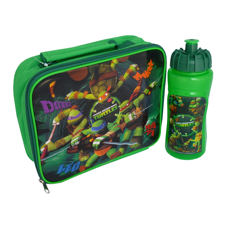 Teenage Mutant Ninja Turtles Lunch Bag & Bottle Deportes ...