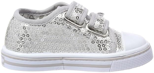 Primigi PBU 14455, Sneaker a Collo Alto Bambine e Ragazze, Argento, 27 EU