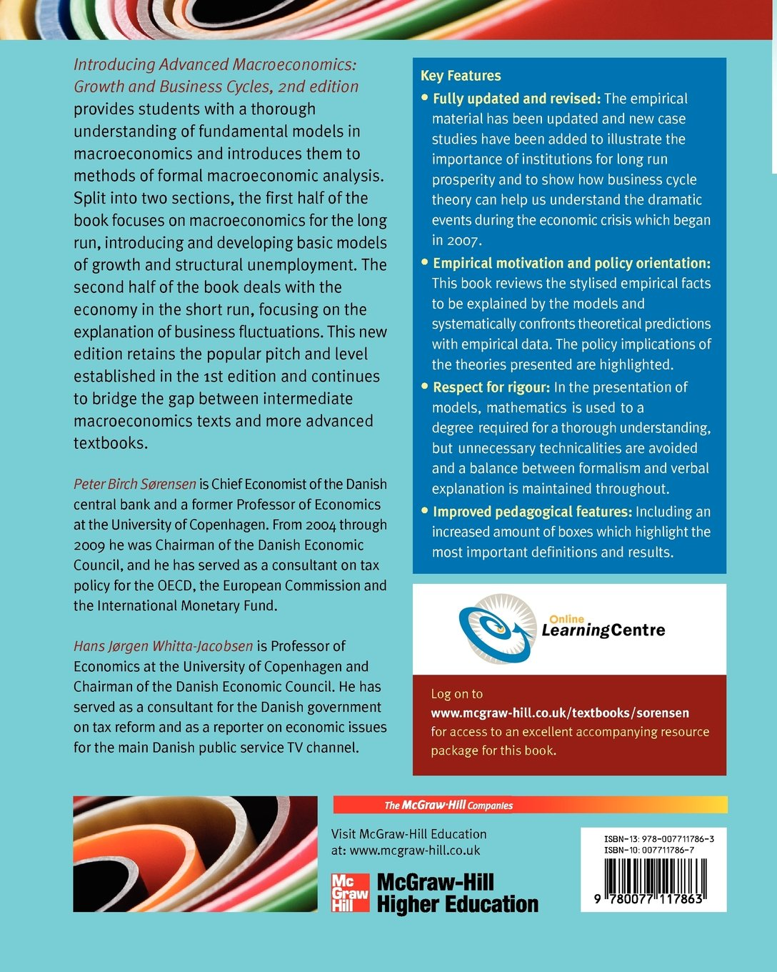 introducing advanced macroeconomics growth and business cycles rh amazon de