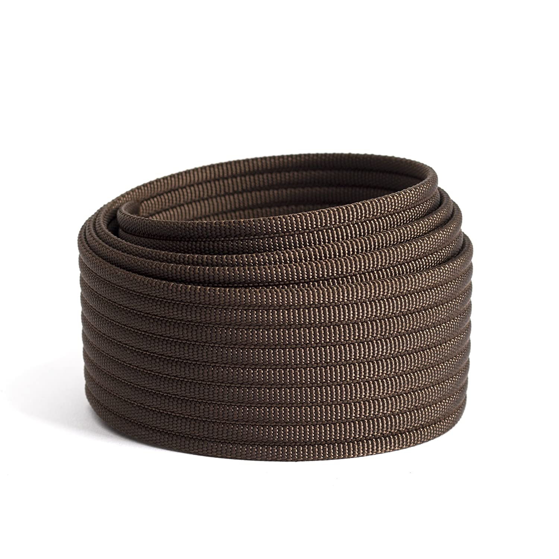 Grip6 No Holes Adjustable Web Nylon Men's Belt Strap (Strap Only)