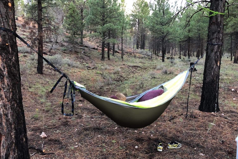 Outdoor Skye Hammock Underquilt Lightweight Sleeping Bag Quilt for Camping, Backpacking, Backyard – Packable Full Length Under Blanket Add Hollow Cotton