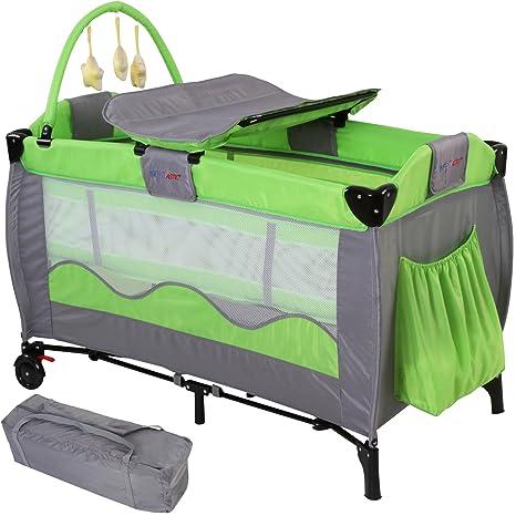 Infantastic Folding Travel Cot Crib Colour Choice green ...