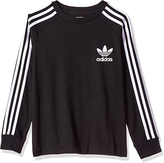 Triplicar Pavimentación Perder  Amazon.com: Adidas Originals Big - Camiseta de manga larga para ...