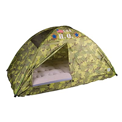 Pacific Play Tents 19780CAMOUFLAGE H.Q. Bed Tent: Toys & Games